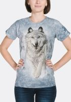 Snow Plow Women's T-shirt - The Mountain® | Ladies Fit T-shirt | Wolves